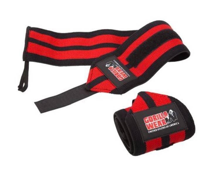 Wrist Wraps PRO - Black/Red